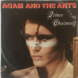 "Adam & The Ants ‎- Prince Charming (7"") (VG/G++)"
